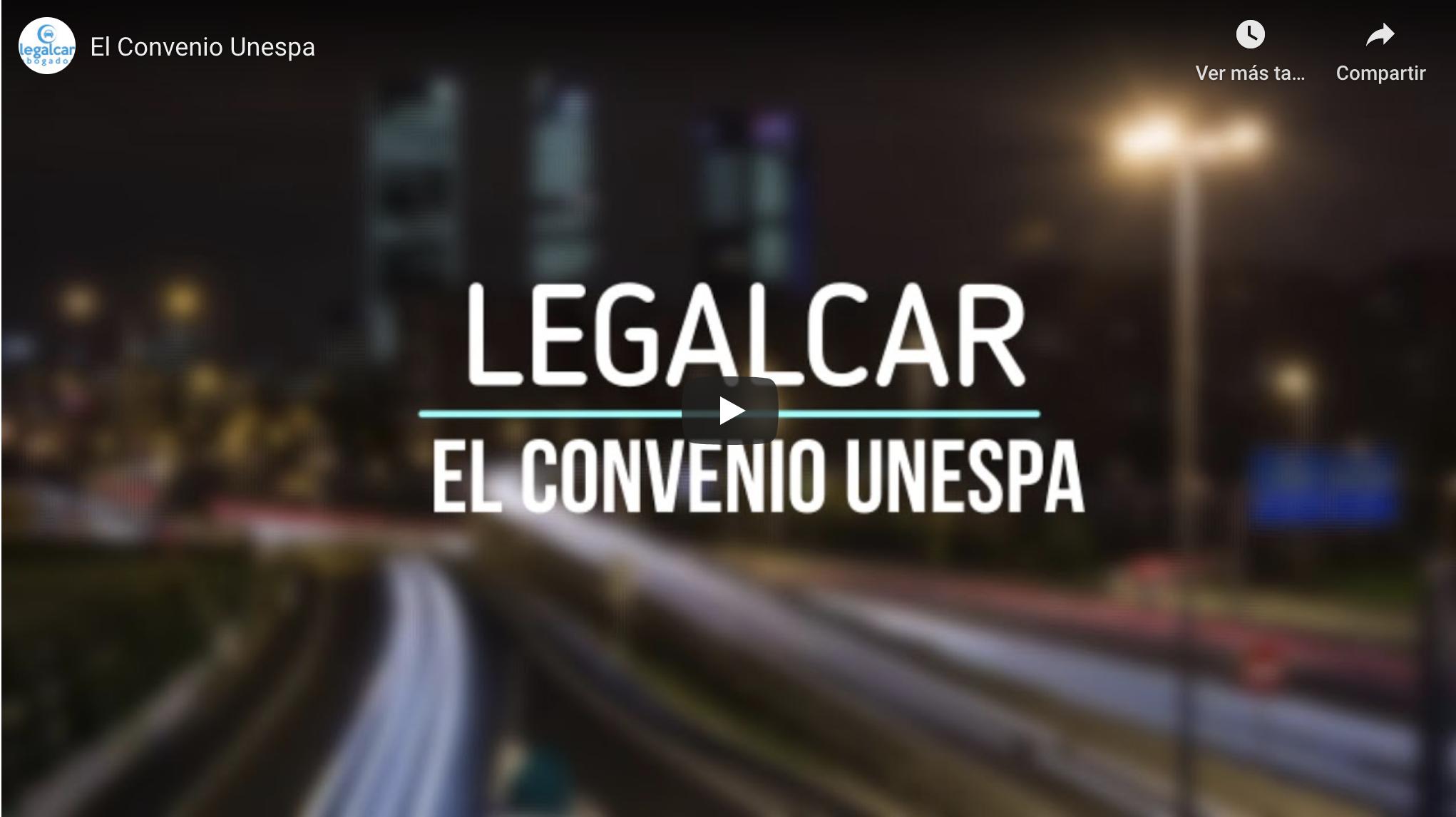 Convenio UNESPA