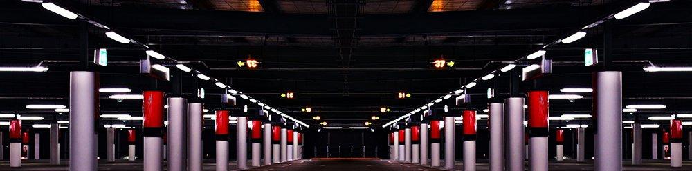 Daños en un parking privado