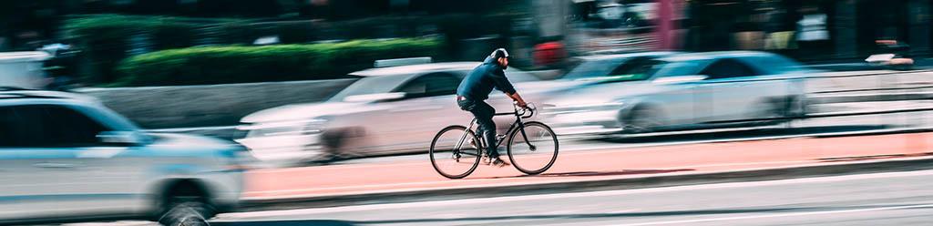 Accidente por culpa del ciclista