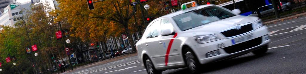 que hacer en caso de accidente en taxi