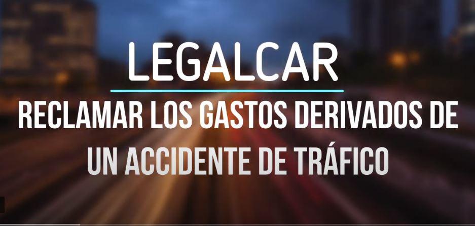 como reclamar los gastos derivados de un accidente de trafico