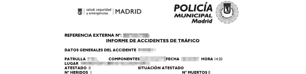 como solicitar atestado para accidente de tráfico