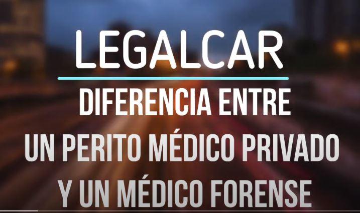 diferencia entre un perito medico privado y un medico forense