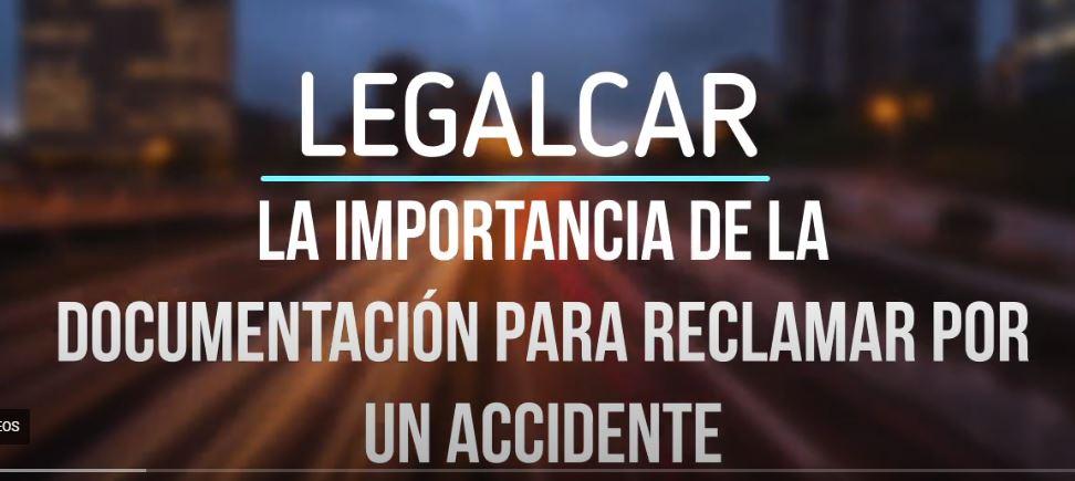 documentacion tecnica en accidente de trafico